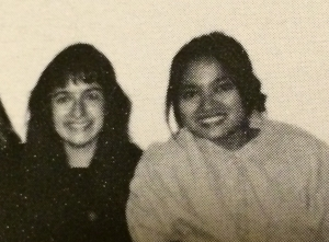 Joanne Diaz and Grace Talusan 1994
